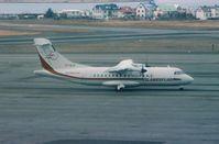 TF-ELK @ REK - REYKAVIK ATR42-300 TF-ELK - by moxy