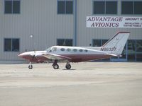 N6633T @ CNO - Parked at Advantage Avionics - by Helicopterfriend