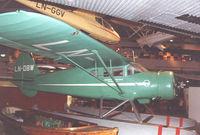 LN-DBW @ BOO - Norwegian Aviation Museum at Bodo - by Henk Geerlings