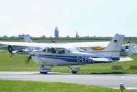 D-EFGX @ EDBM - Cessna 172 at the 2010 Air Magdeburg - by Ingo Warnecke