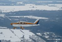 C-FYSZ - YSZ in flight just east of Ottawa, Ontario - by Alison Hobbs