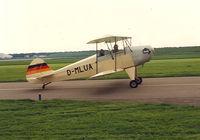 D-MLUA @ EHLE - Home build biplane - by Henk Geerlings