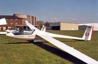LY-GEQ @ EBSU - Single seat sailplane designed by the Lituanian Aero Club (LAK) - by Henk Geerlings