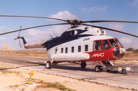 LZ-CAR @ LMML - MAC - Malta Air Charter. Flt: MLA- Gozo. Flyingtime 11 minutes. Flt operated by Heli Air Service - by Henk Geerlings