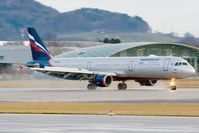 VP-BUM @ LOWS - Aeroflot A321 - by Andy Graf-VAP