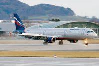 VP-BUM @ LOWS - Aeroflot A321 - by Andy Graf-VAP