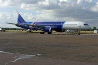 G-ZAPU @ EGMC - Departing after routine maintenance at ATC Lasham Ltd. - by Alan Pratt