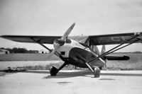 CF-GDD @ CYCW - A photo of Stinson CF-GDD, taken in the early 1950's by the then owner Clifford A. Skelton, my grandfather, at Chilliwack Airport, BC - by Doug Hunter