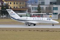 D-CHAT @ LOWS - Cessna 525 CJ3 - by Andy Graf-VAP