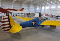 N53613 - Laister-Kauffman LK-10A at the Southwest Soaring Museum, Moriarty NM
