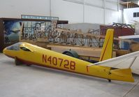 N4072B - Moore SS-1 at the Southwest Soaring Museum, Moriarty NM