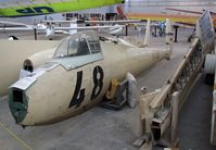 YU-4048 - Jacobs DFS 108-68 Weihe 50, awaiting restoration at the Southwest Soaring Museum, Moriarty NM