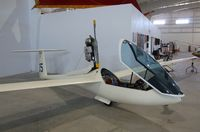 N235A - Glasflügel Mosquito motorglider at the Southwest Soaring Museum, Moriarty NM