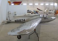 N91874 - Schweizer SGS 1-23 at the Southwest Soaring Museum, Moriarty NM