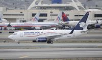 N126AM @ KLAX - Arriving at LAX - by Todd Royer