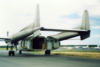 N175ML @ HYA - 1953 Fairchild C-119 N175ML at Barnstable Municipal Airport, Hyannis, MA - July 1986 - by scotch-canadian