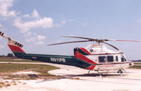 N911PB @ 7FL5 - Palm Beach County , Health Care District. - by Henk Geerlings