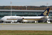 9V-SMP @ LSZH - Singapore B744 - by Loetsch Andreas