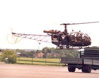 D-HBJG @ EDKB - 50 years BGS- German Border Patrol. Landing on truck - by Henk Geerlings