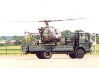 D-HBJG @ EDKB - Demo , Heli landed on truck. 50 Years BGS - German Border Patrol - by Henk Geerlings