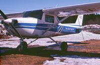 C-GEZJ @ CYXL - Photo circa 1978 while operated by Sioux Lookout Flying Club - by Stephen B. Nicholson
