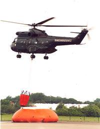 D-HAXG @ EDKB - 50 years BGS - German Border Patrol, demo fire fighting - by Henk Geerlings