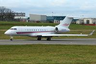 N700GR @ EGBB - Bombardier BD-700-1A11, c/n: 9366 at Birmingham UK