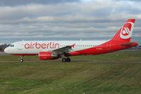 D-ABFN @ EGBB - Air Berlin's 2010 Airbus A320-214, c/n: 4510 at Birmingham UK