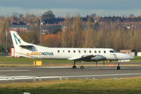 EC-JCU @ EGBB - Aeronova's Fairchild SA227AC Metro III, c/n: AC-679B at Birmingham Uk