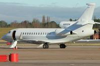 N85DN @ EGBB - Dassault Aviation FALCON 7X, c/n: 130 at Birmingham UK