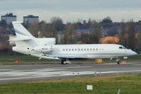 N12U @ EGBB - Dassault Aviation FALCON 7X, c/n: 53 at Birmingham UK