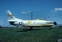 53-0635 @ VAY - F-86L marked as USAF 512th FIS sabre 52-10110 - by John Hevesi