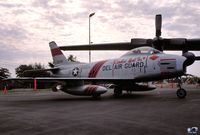 53-1296 @ ILG - Sabre Dog F-86H marked as Lt Col David F. Snapper McCallister, Jr's ride. {142nd FBS- Del ANG} - by John Hevesi