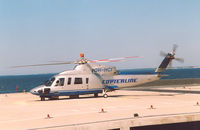 OH-HCI @ EECL - Copterline. Crashed into the Baltic Sea off Tallinn, 10 AUG 2005  Tallinn Heliport , Estonia - by Henk Geerlings
