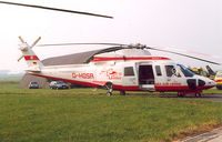 D-HOSA @ EBLG - Wiking Helicopter Service.