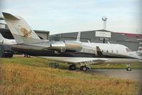 N999PX @ EGGW - 1998 Bombardier CL-600-2B16, c/n: 5387 - by Terry Fletcher