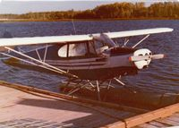C-FXVO - When I bought XVO from Bob Dowhey of Ignace Airways in 1979 she looked almost vintage. Seen here at the foot of 5th Ave in Sioux Lookout - by Stephen B. Nicholson