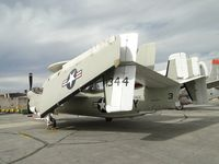 161344 @ CNO - Parked out back of Yank's Air Museum, with wings folded back - by Helicopterfriend
