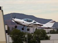N1111X @ KSMO - N1111X departing from RWY 21 - by Torsten Hoff