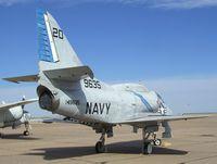 149635 - Douglas A-4L Skyhawk at the Mid-America Air Museum, Liberal KS - by Ingo Warnecke