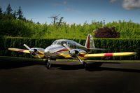 N3177P @ WN35 - Restored 1957 Piper Apache by Ed Soderblom - by Fallingleafimages.com