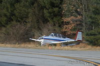 N424NM @ LZD - T-34 at Danielson, CT - by Dave G