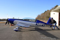 N210MX @ LZD - Getting pushed out of a hangar at Danielson, CT - by Dave G