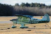 N5190Z @ LZD - Piper Colt at Danielson, CT - by Dave G