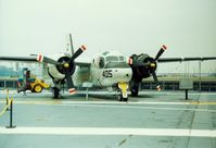 133264 - Grumman TS-2A Tracker S/N 133264 at the Intrepid Sea-Air-Space Museum, New York City, NY - circa early 1990's - by scotch-canadian
