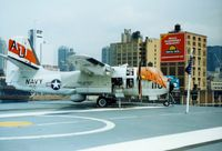 151664 - Grumman S-2E Tracker S/N 151664 at the Intrepid Sea-Air-Space Museum, New York City, NY - circa early 1990's  - by scotch-canadian