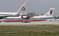 N414WF @ MIA - Eagle ATR 72