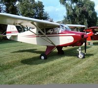 N1424A - 1951 Piper-Tripacer Rebuilt in 2003 - by Steve Stacey
