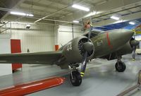 N65314 - Beechcraft C18S Twin Beech at the Mid-America Air Museum, Liberal KS