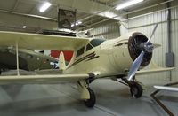 N139KP - Beechcraft F17D Staggerwing at the Mid-America Air Museum, Liberal KS